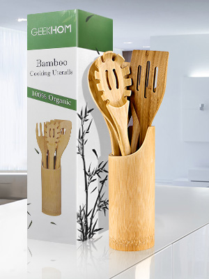 Safe and Durable Bamboo Utensils