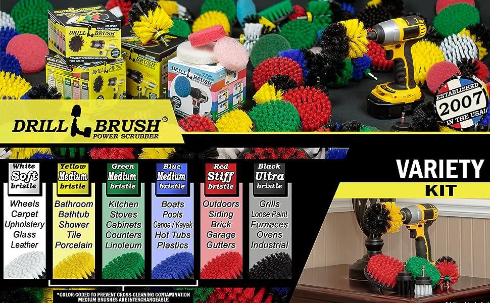 Variety Drill brush