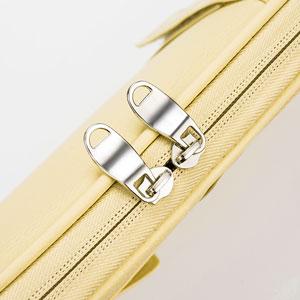 Convenient double zippers