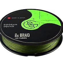 Catch Co Googan Squad Braided Fishing Line