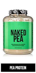 pea protein powder, vegan protein powder, unflavored vegan protein powder, non-gmo, naked pea