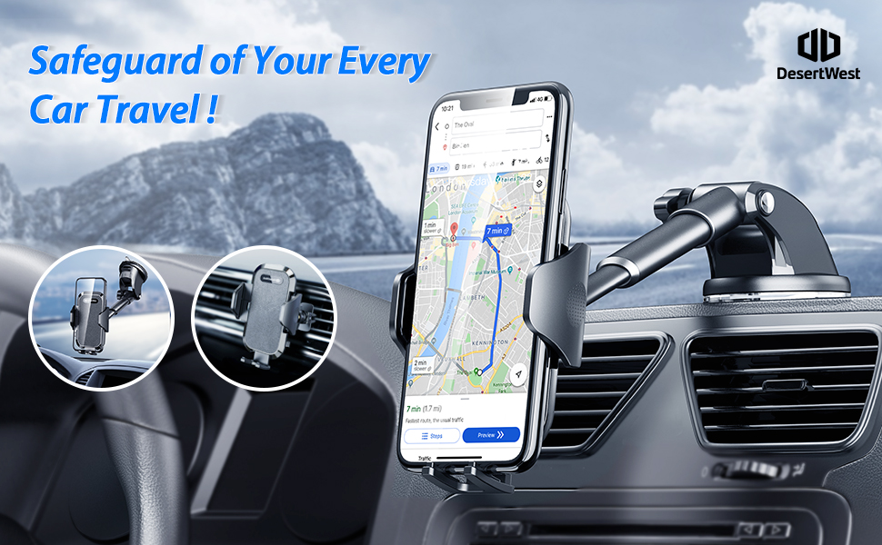 DesertWest New Generation Car Phone Mount
