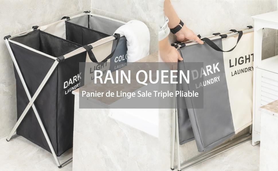 RAIN QUEEN Panier à Linge