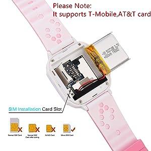 Kids Phone Smartwatch w GPS Tracker