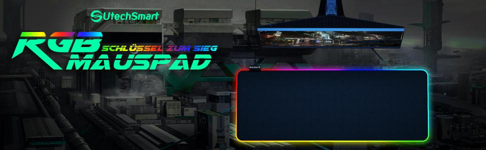 UtechSmart RGB Mauspad