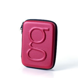 Travel case red