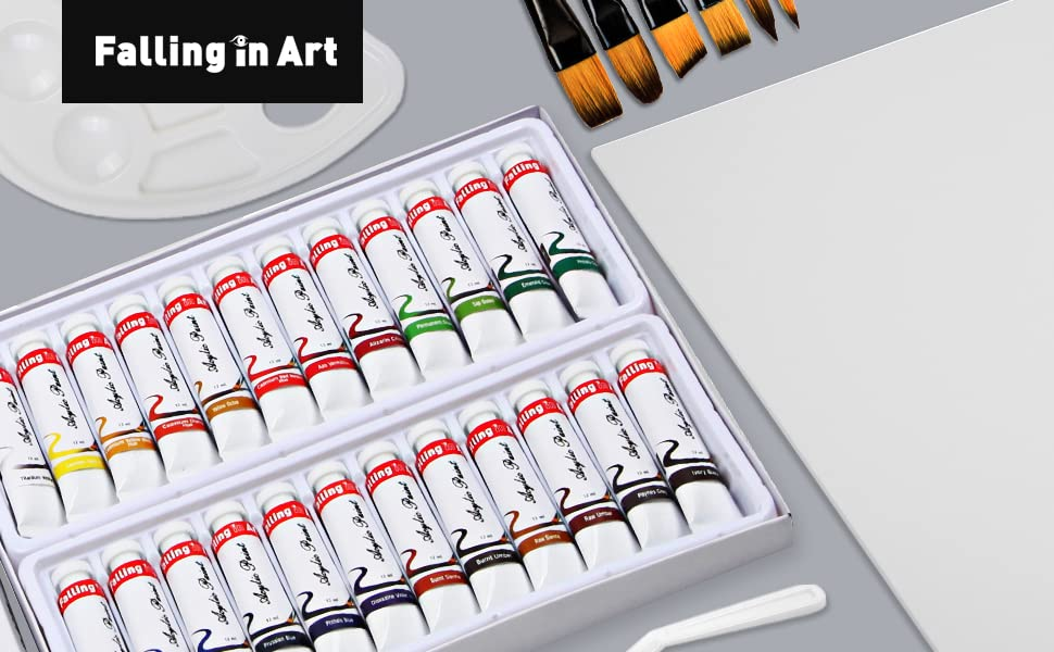 24 acrylic paint set 1