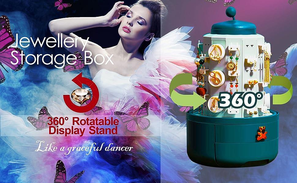 Fashion Jewellery Earrings Storage Box