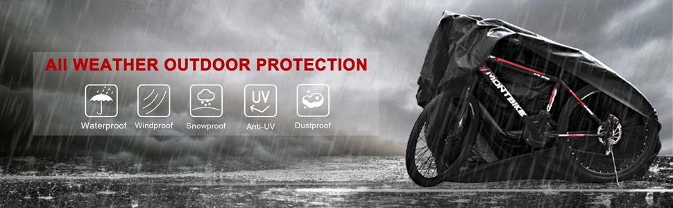 Mountain bike cover, strong and durable,suitable for indoor,outdoor, rainproof, waterproof,dustproof