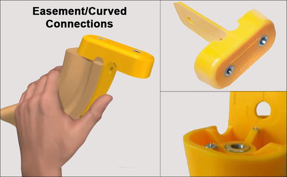 Zipbolt QT40.260 jaune escalier connecteur Jig Inc 3 X Forets