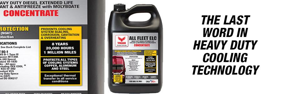 TRIAX antifreeze, triax elc, triax diesel