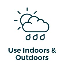 use indoors & outdoors