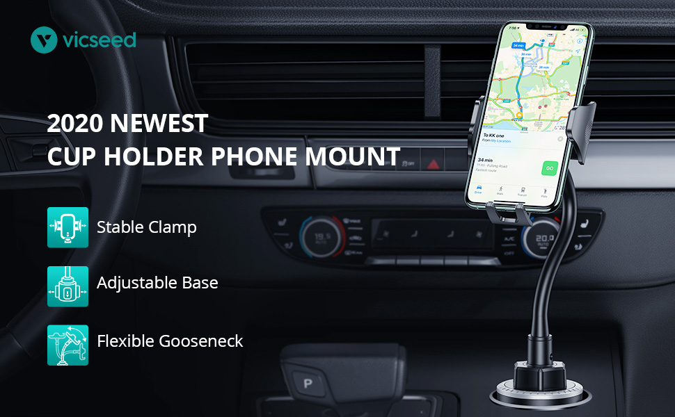 cup holder phone moumt phone cup holder for car cup phone mount phone holder iphone cup holder