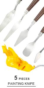 Paint knife set