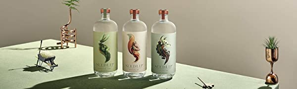 all three bottles