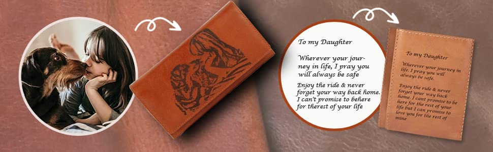 Image and Text engraving on clutches