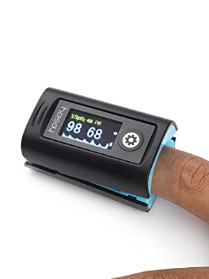 Hesley Pulse Oximeter Fingertip Oxygen Saturation