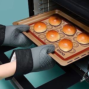 tapis de cuisson pour faire du pain au four