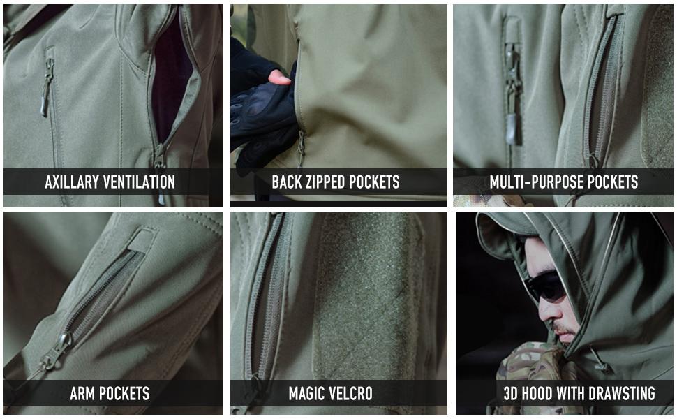 waterproof jacket for men