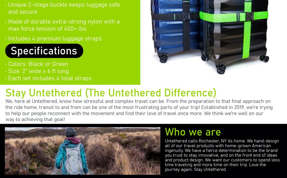 luggage straps travel