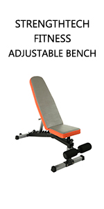 FITNESS, ADJUSTABLE WEIGHT BENCH, WEIGHT BENCH
