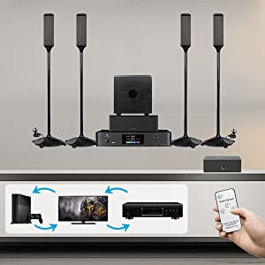 3x1 audio switcher