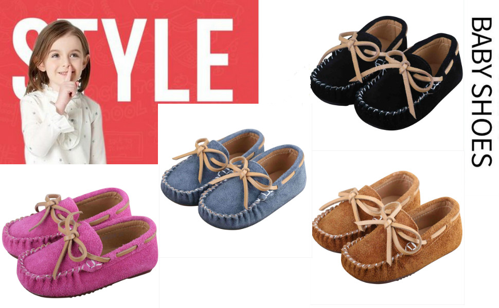 Kids Moccasin Loafers