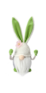 Green Bunny 13 Inches