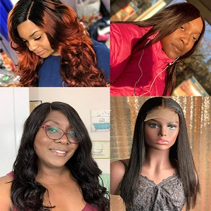 cheap lace front wigs human hair under ,Wig & Hair Extensions Color