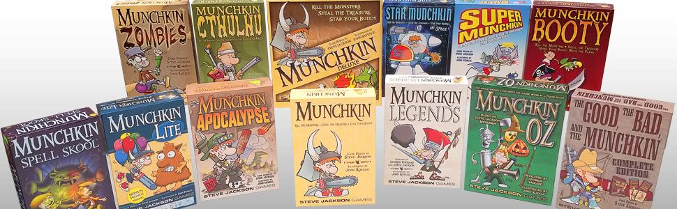 Munchkin, Steve jackson games, Pathfinder, role playing game, rpg, more munchkin