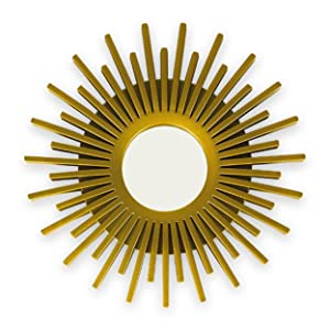 Gold mirror. Wall decor. Mirrors in the shape of a sun