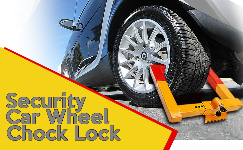 Security Tire Lock Clamp Boot Tire Claw