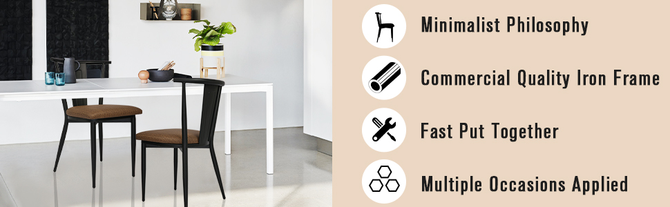 Several Features of chair