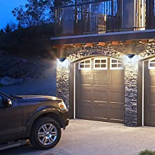 Outdoor Lighting for Garage