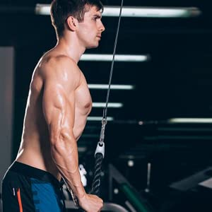 Triceps Pull Down Rope