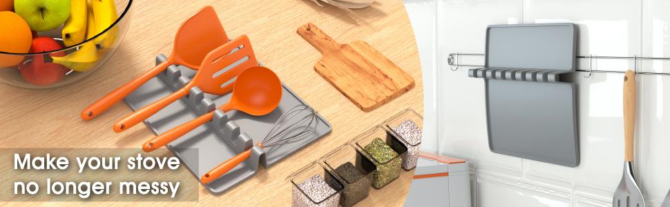 heat resistant utensil rest
