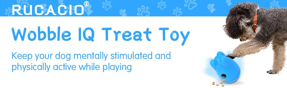 Wobble Dog Treat Toy