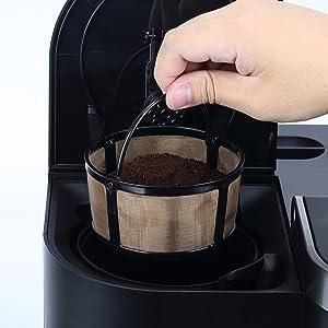 insert to your coffee machine