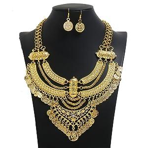 Multi-row necklace necklace bohemian hippie boho gipsy original ethnic BALTHAZAR
