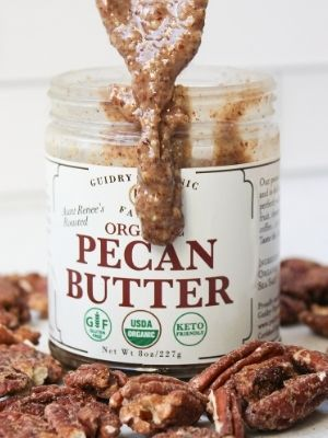 pecan butter, clean eating, healthy snack, nut allergy safe, organic