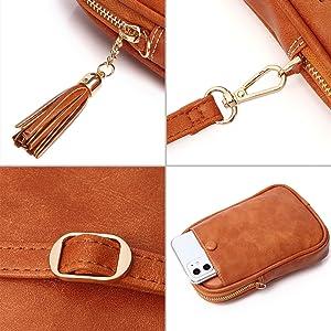 APHISON Small Crossbody Bag Cellphone Purse for Women Girls Mini Messenger Dating Shoulder Bag  gift