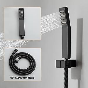 Handheld Shower with 60'' Hose