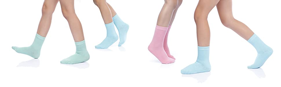 FRI Boys//Kids 5//10 Socks Pairs Packs COTTON RICH EVERYDAY Casual School Design Black Heel and Toe Stripe Mon