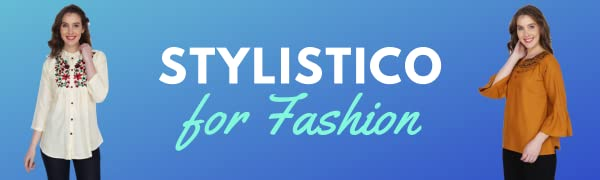 Stylistico Brings to You This Embroidery Casual Top.