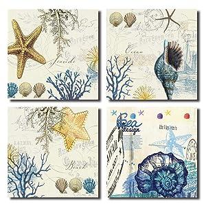 starfish wall art