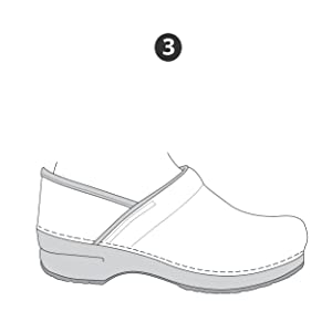 How to fit Dansko clogs