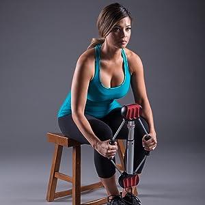 筋肉のターゲティングと調色