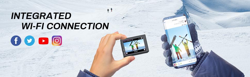 Wi-FI action camera