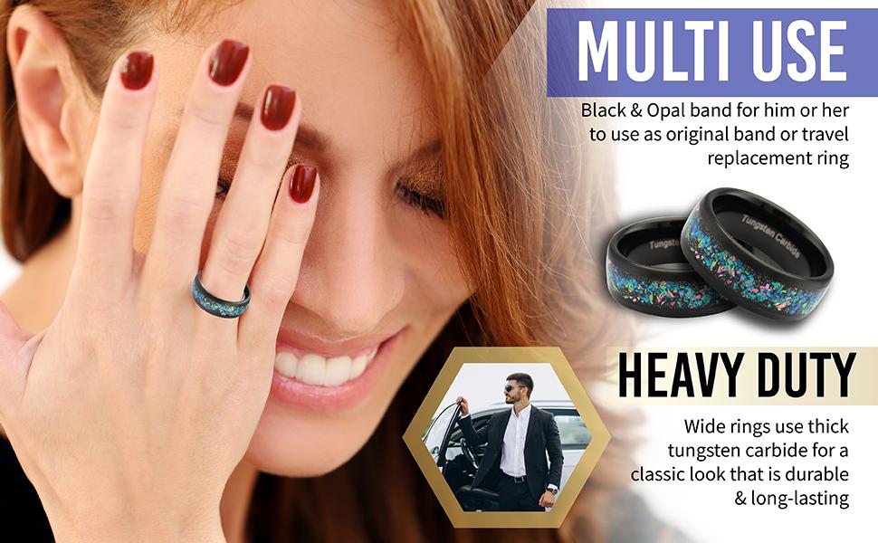 tungsten ring for women