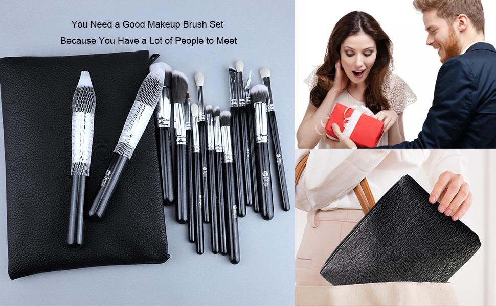 good makeup brush set